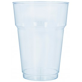Copo de Cerveja Transparente PS 200 ml (40 Uds)