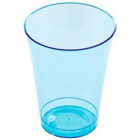 Copo de Plastico PS Turquesa 230ml (10 Uds)