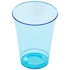 Copo de Plastico PS Turquesa 230ml (150 Uds)