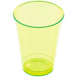 Copo de Plastico PS Verde 230ml (10 Uds)