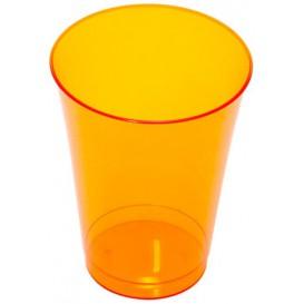 Copo de Plastico PS Laranja 230ml (150 Uds)