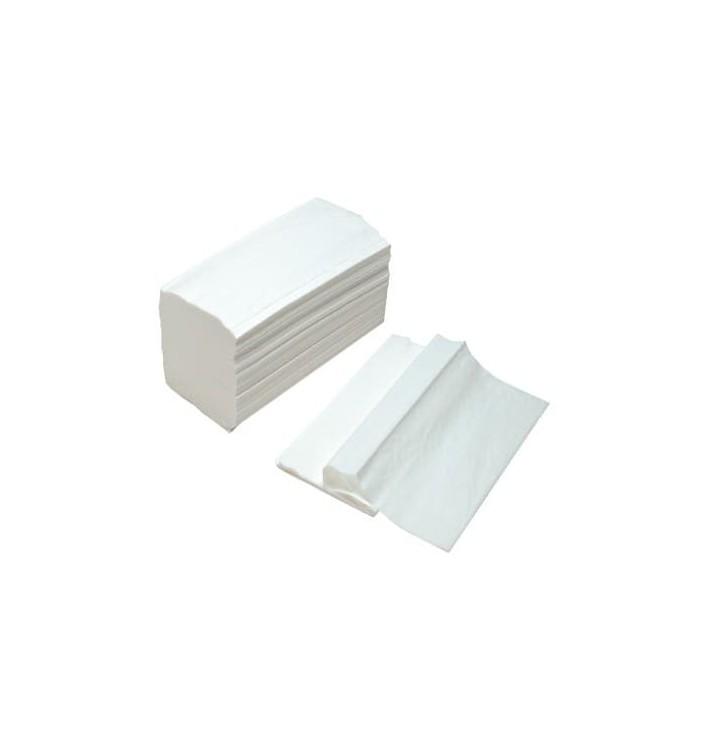 Toalha Papel Seca Mãos Tissue Branco 2 Folhas Z (150 Uds)
