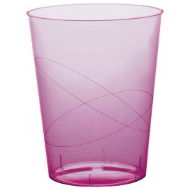 Copo Plastico Moon Cristal Lilás Transp. PS 350ml (200 Uds)