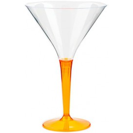 Copo Plastico Cocktail Pé Larnaja 100ml (6 Uds)
