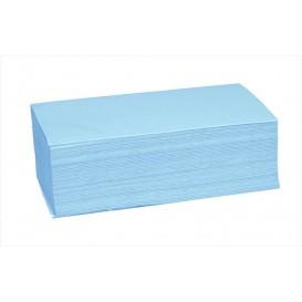 Toalha de Papel Seca Mãos Azul 1 Folha Z (4.560 Uds)