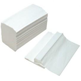 Toalha Papel Seca Mãos Tissue Branco 2 Folhas Z (3.000 Uds)
