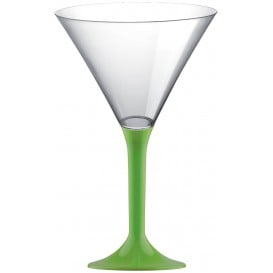 Copo PS Flute Cocktail Verde Limão 185ml 2P (20 Uds)