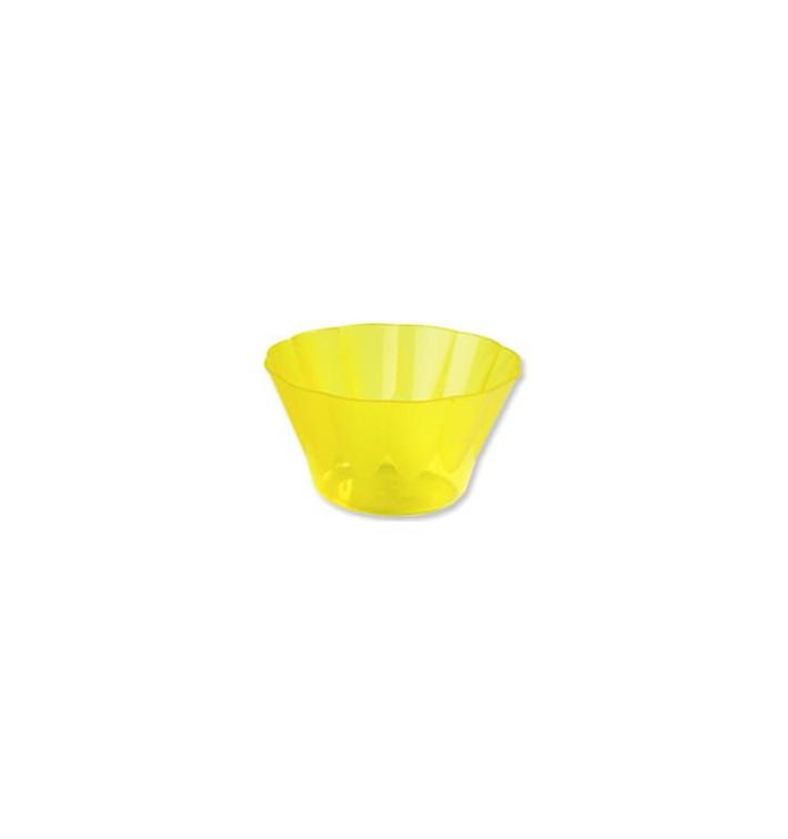 Copo Plastico Royal PS 500ml Amarelo (25 Unidades)