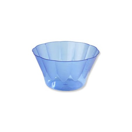 Copo Plastico Royal PS 400ml Azul (30 Unidades)