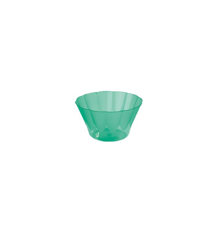 Copo Plastico Royal PS 300ml Verde (35 Unidades)