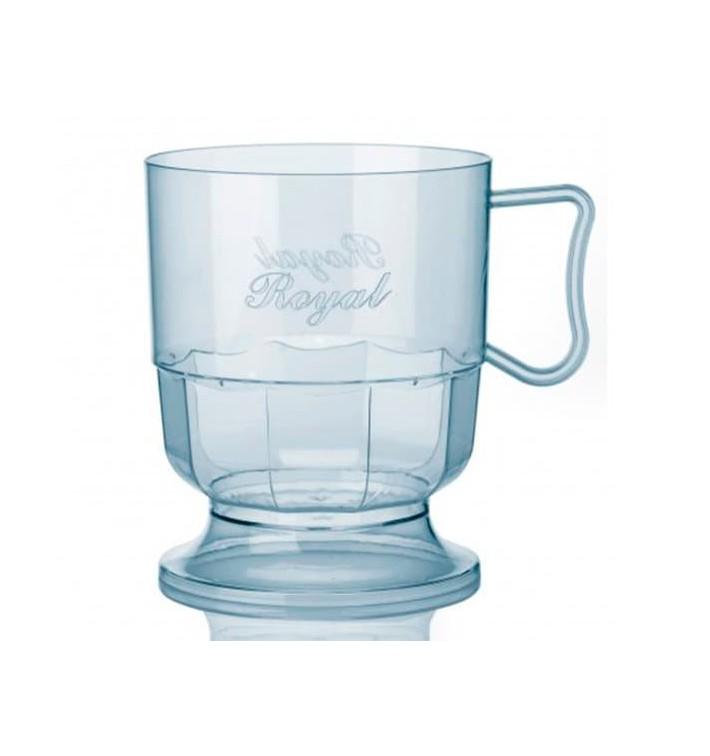 Chavena Plastico Café Leite 200ml Transparente (300 Uds)