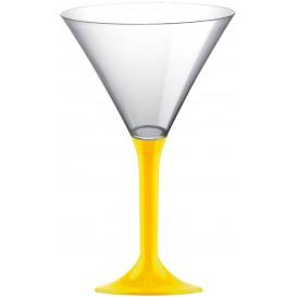 Copo PS Flute Cocktail Amarelo 185ml 2P (20 Uds)