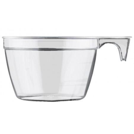 Chavena Plastico Cup Transparente 90ml (900 Uds)