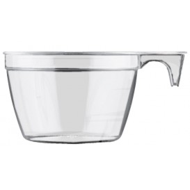 Chavena Plastico Cup Transparente 90ml (50 Uds)