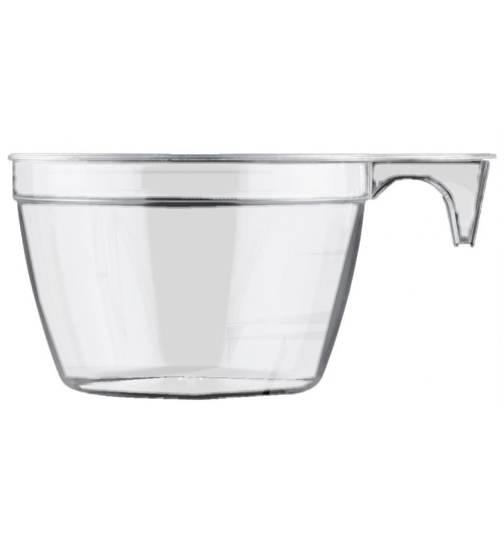 Chavena Plastico PS Cup Transparente 190ml (1000 Uds)