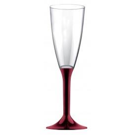 Copo PS Flute Champanhe Bordeaux 120ml 2P (200 Uds)