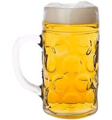 Caneja Reutilizáveis Cerveja SAN Ø77mm 500ml (6 Uds)