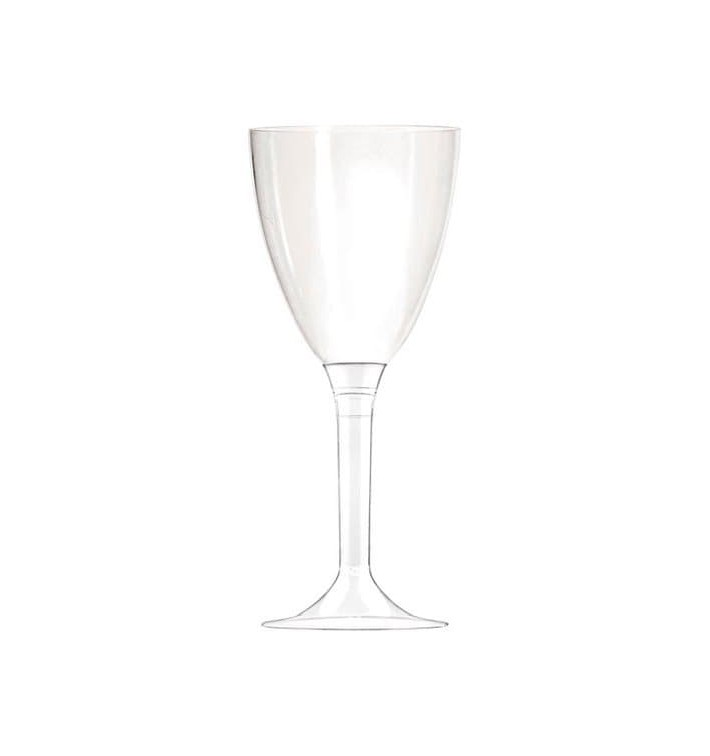 Copo Plastico Vinho PS 130 ml Transparente (10 Uds)