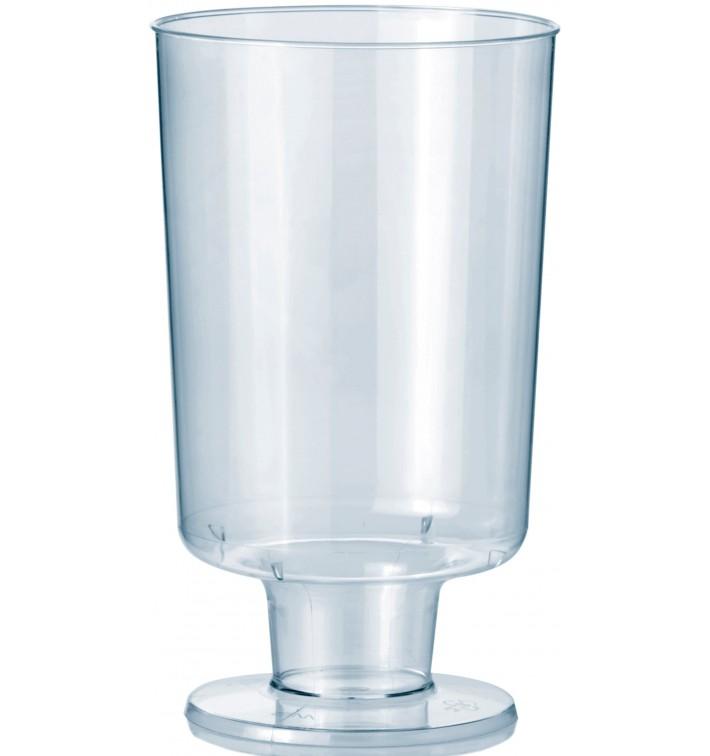 Copo Plastico Vinho com Pé PS 150ml 1P (264 Uds)
