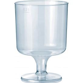 Copo Plastico Vinho com Pé PS 200ml 1P (10 Uds)