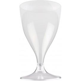 Copo PS Flute Vinho Transparente 200ml 2P (400 Uds)