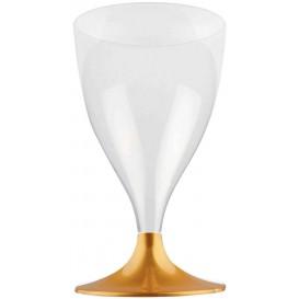 Copo PS Flute Vinho Ouro 200ml 2P (400 Uds)
