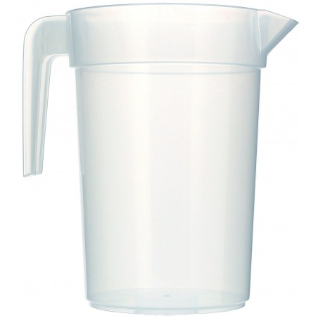Jarro de Plástico PP 1.000 ml (6 Unidades)