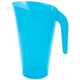 Jarro de Plástico Turquesa 1500 ml (20 Uds)