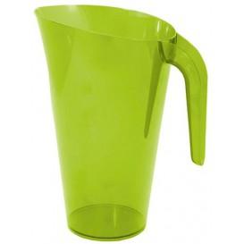 Jarro de Plástico Verde 1500 ml (20 Uds)