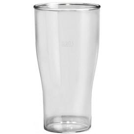 Copo Reutilizáveis Cerveja SAN Ø73mm 350ml (100 Uds)