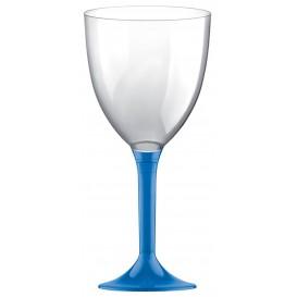 Copo PS Flute Vinho Azul Transp. 300ml (20 Uds)