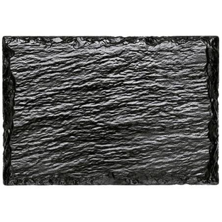 Bandeja de Plastico em Ardósia 130x90 mm (20 Unidades)