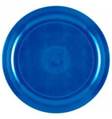 Prato de Plastico Azul Mediterraneo Round PP Ø290mm (25 Uds)