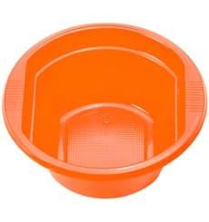 Tigela de Plastico PS laranja 250ml Ø12cm (30 Unidades)