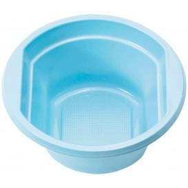 Tigela de Plastico PS Azul Claro 250ml Ø12cm (30 Uds)