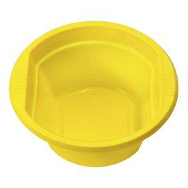 Tigela de Plastico PS Amarelo 250ml Ø12cm (30 Uds)