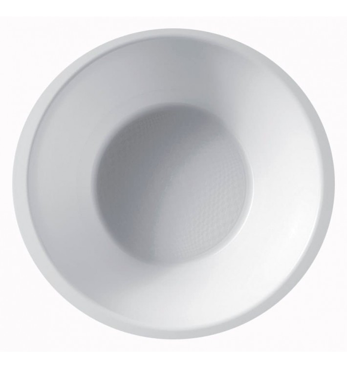 Tigela de Plastico Branco Ø155mm 450ml (300 Uds)
