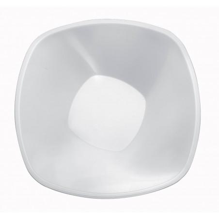 Tigela de Plastico Branco Square PP Ø210mm 1250ml (30 Uds)