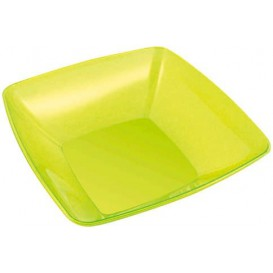 Tigela PS Cristal Duro Verde 3500ml 28x28cm (20 Uds)