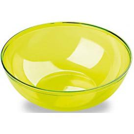 Tigela de Plastico Verde 3500ml Ø 27 cm (20 Uds)