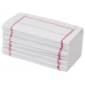 Toalhas de Papel ZIGZAG Vermelho e Azul (250 Unidades)