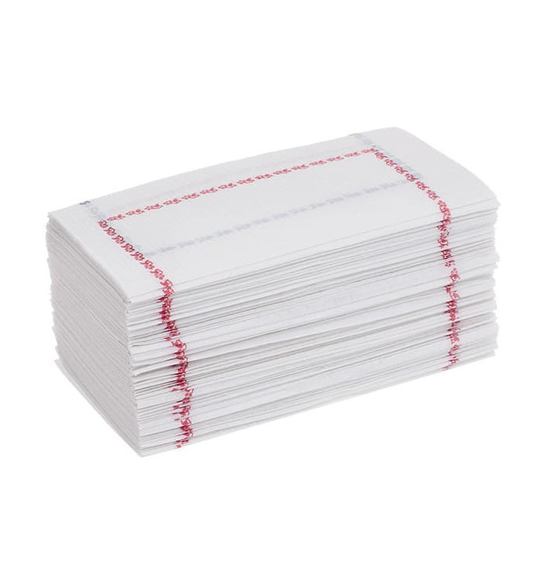 "Toalhas de Papel ""Zigzag"" Branco Debrum 14x14cm (30000 Uds)"