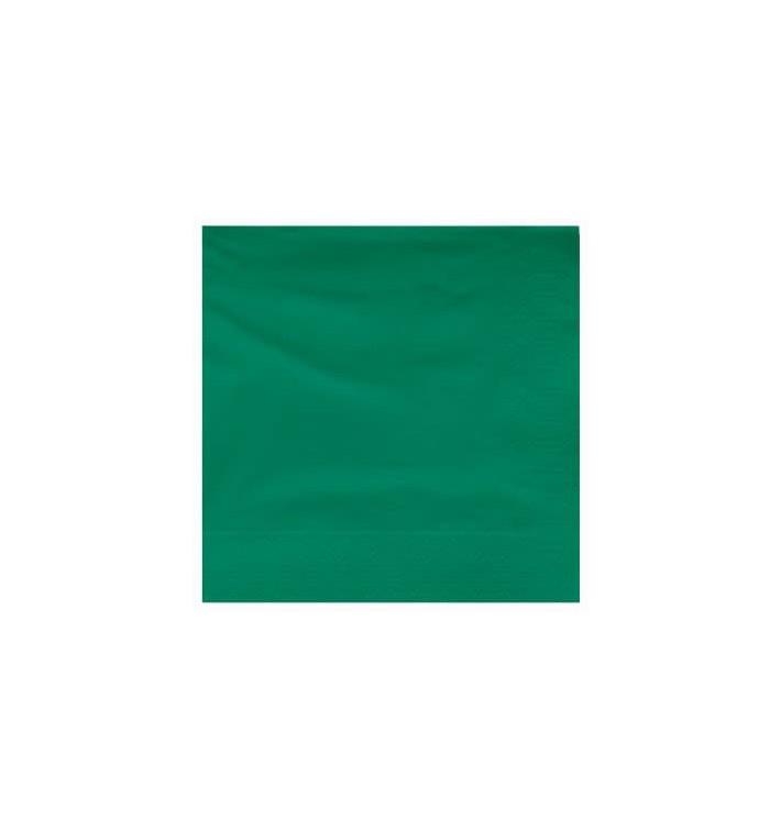 Guardanapos Papel Fl Dupla Verde 25x25cm (3400 Uds)
