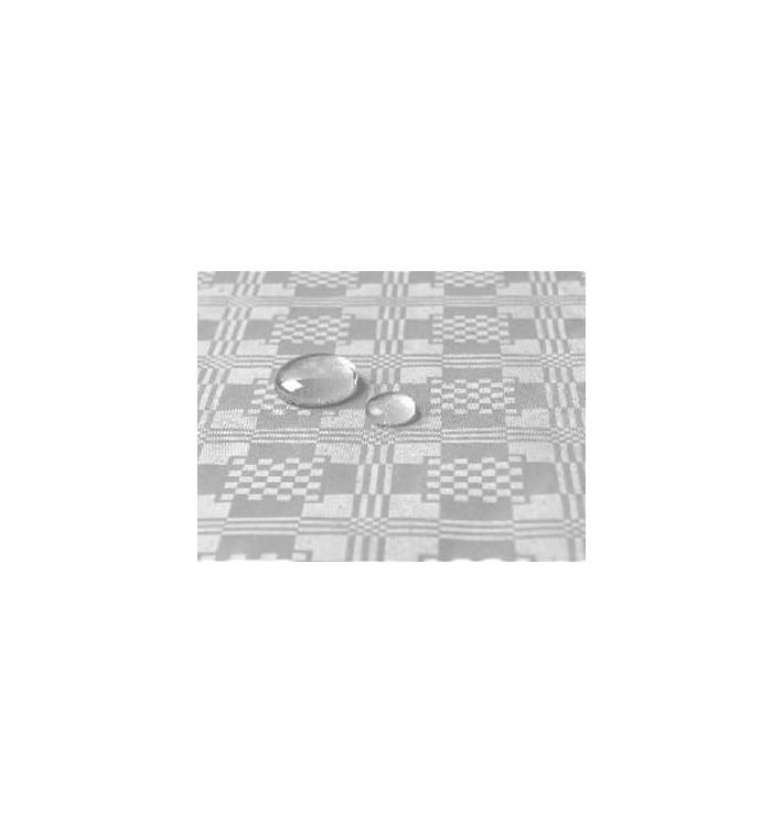 Toalha Papel Plastificado Rolo Prata 1,2x5m (1 Ud)