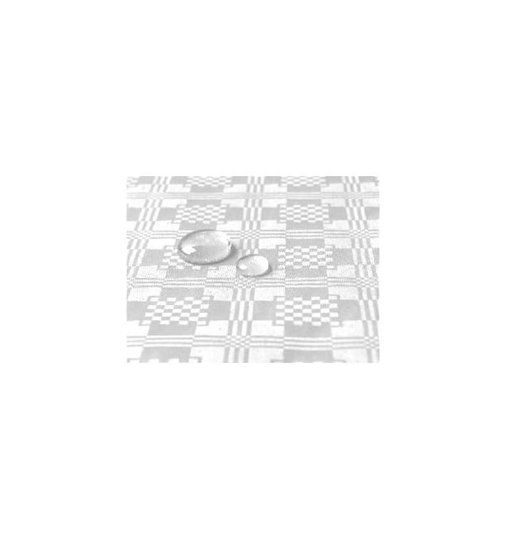 Toalha Papel Plastificado Rolo Branco 1,2x5m (1 Ud)