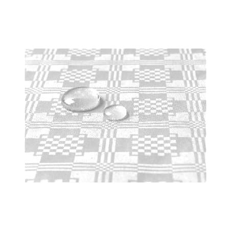 Toalha Papel Plastificado Rolo Branco 5x1,2m (1 Ud)