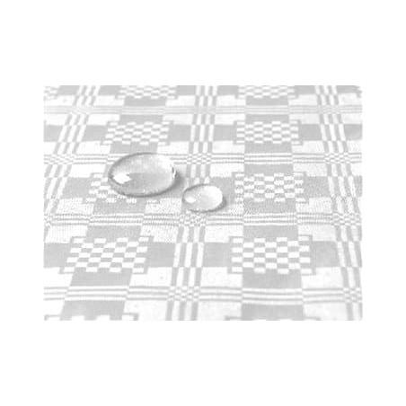 Toalha Papel Plastificado Rolo Branco 5x1,2m (10 Uds)