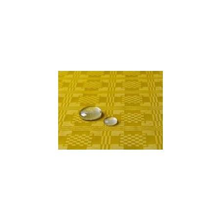 Toalha Papel Plastificado Rolo Amarelo 5x1,2m (10 Uds)