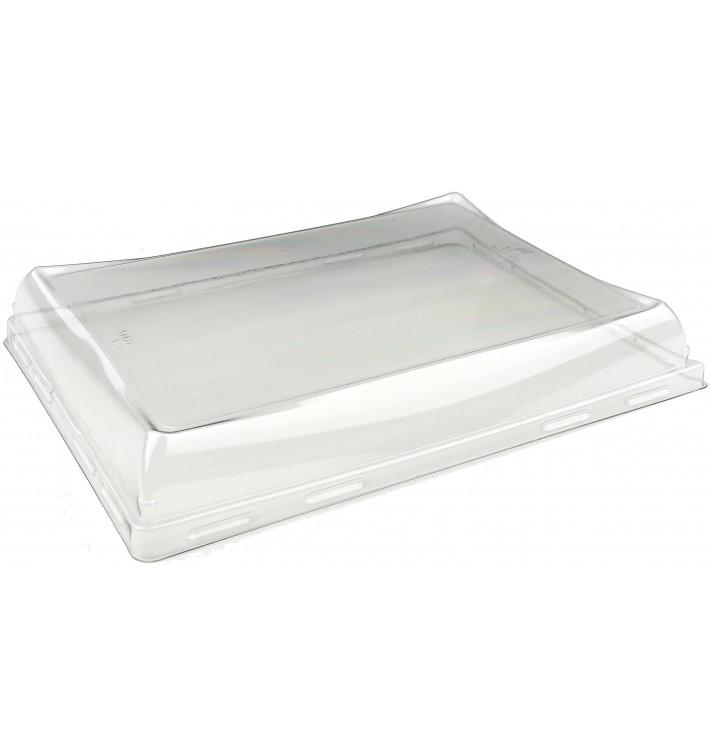 Tampa de Plástico PET para Bandeja 220x160mm (50 Uds)