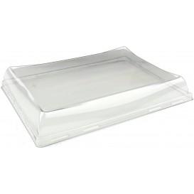 Tampa de Plástico PET para Bandeja 220x160mm (300 Uds)